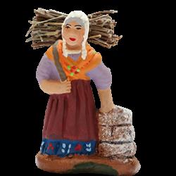 Femme au fagot 4cm