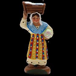 Femme au berceau 4cm