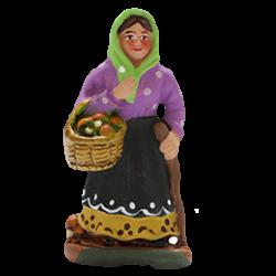 Femme aux champignons 4cm