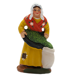 Femme aux olives 4cm