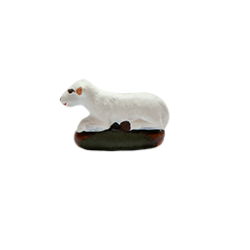 Mouton couché 4cm