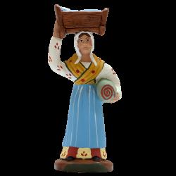 Femme au berceau 9 cm
