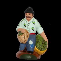 Homme olives à genoux 7 cm
