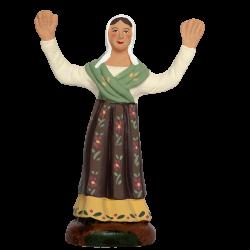 Femme ravie 9 cm