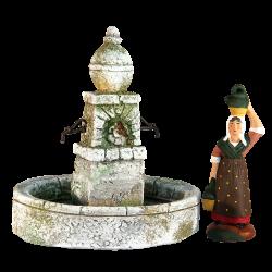 Fountain Round (7 cm)