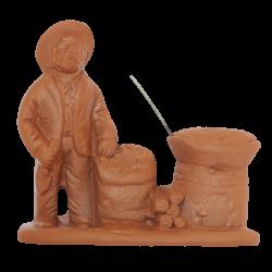 Marchand de marrons 7 cm à peindre
