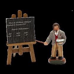 Instituteur et son tableau 4 cm