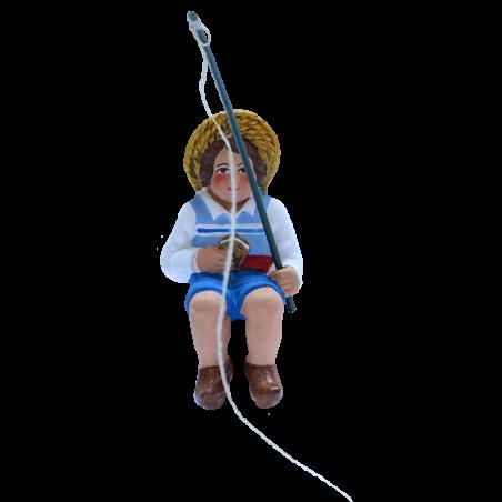 Enfant pecheur 7CM