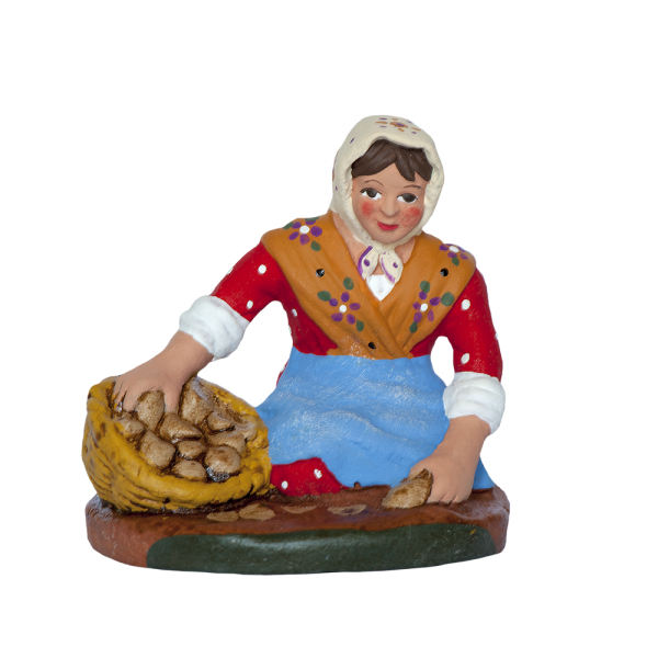Femme aux patates