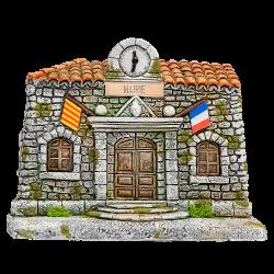 Mairie Façade (pour 7 cm)