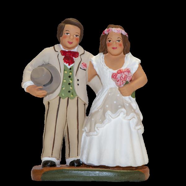Couple de Mariés 7 cm