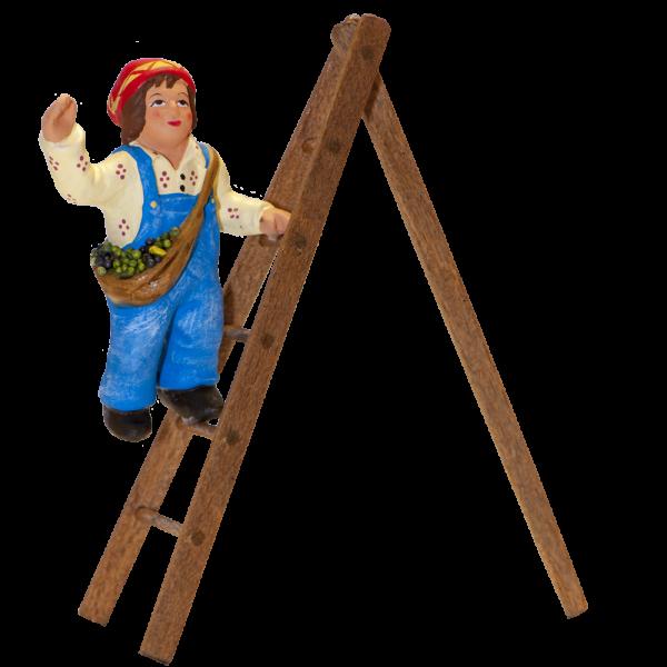 Enfant sur l'échelle 7 cm