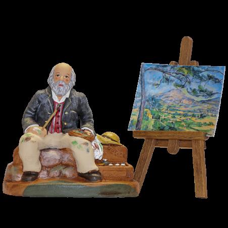Le peintre Aixois et son chevalet 9 cm