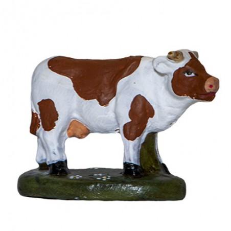 Vache laitière blanche