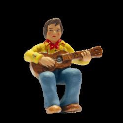Guitariste 7 cm