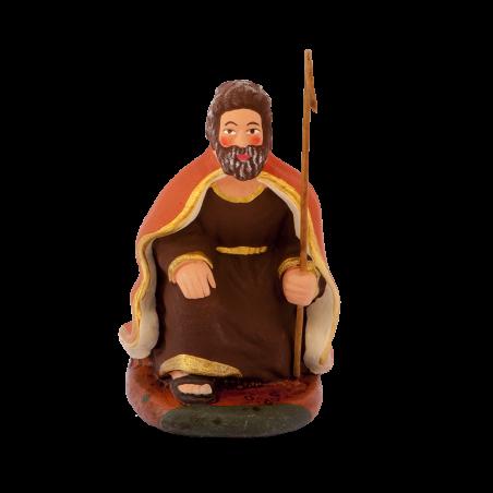 Joseph à genoux 7 cm