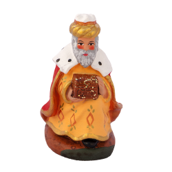 Roi à genoux (melchior) 7 cm