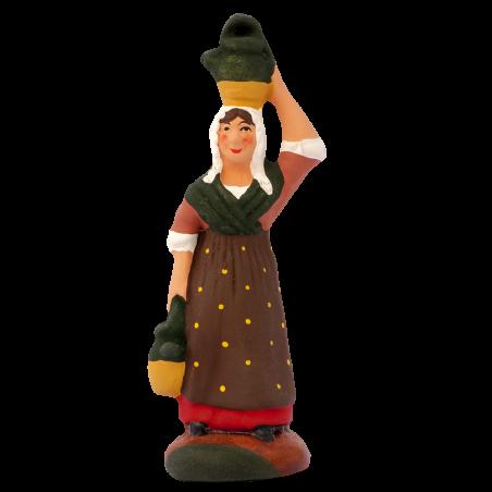 Femme aux cruches 7 cm