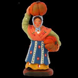 Femme aux courges 7cm