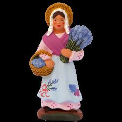 Femme lavande debout 7 cm