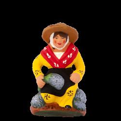 Femme lavande à genoux 7 cm