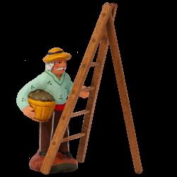 Homme olives à l'échelle 7 cm