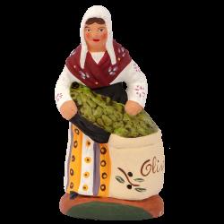Femme olives debout 7 cm
