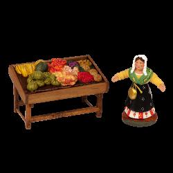Marchande de fruits 7 cm