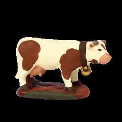 Vache laitière marron 7 CM