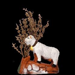 Chèvre broutante 7 cm ( sans l'arbre)