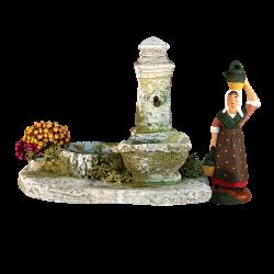Fontaine Fleurie (7 cm)