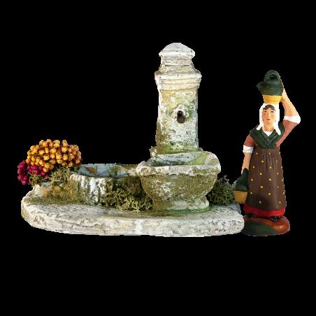 Fountain (for 7cm santons)