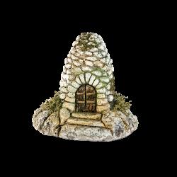 Dry-stone shepherd's hut (effect of perspective)