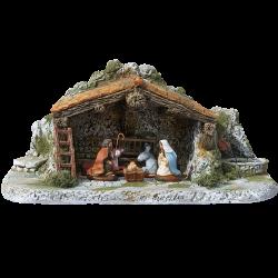 Etable 2 toits (7 cm)