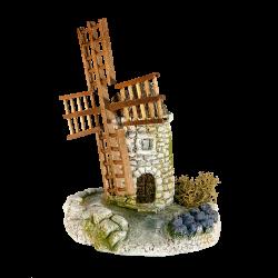 Moulin et ses lavandes
