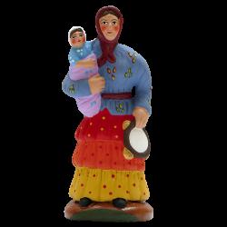 Gitane et l'enfant 9cm